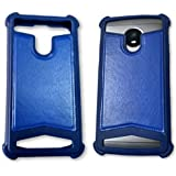 BKDT Marketing Rubber and Leather Soft Back Cover for Lyf Water 3