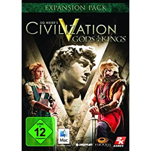 Sid Meier's Civilization V: Gods & Kings Add-on [Mac Steam Code]