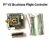 F4 V2 Controlador de Vuelo Bateflight OSD,Regulador 5V / 3A, Dos Giroscopios, Soporte D-Shot,1 Controlador de Vuelo, 1 x Cable SH1.0 6P, 1 x Cable SH1.0 8P
