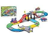 Luxma Autorennbahn Rennbahn Auto Rennstrecke Autorennstrecke Spielzeug Racing Track