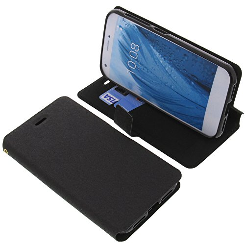 foto-kontor Tasche für ZTE Blade A512 Book Style schwarz Schutz Hülle Buch