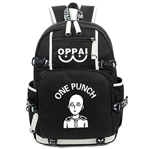 Figur Kostüm Sonic - yoyoshome one-punch Man Anime Cosplay Saitama Luminous Messenger Bag Rucksack Schule Tasche schwarz Punch Man1