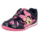 Disney ,  Mädchen Durchgängies Plateau Sandalen mit Keilabsatz, Mehrfarbig - Navy/Pink - Größe: 28 EU Junior