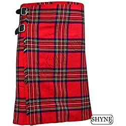 SHYNE KILTS U.K - Falda - falda escocesa - Hombre multicolor Red/black 102 cm