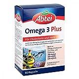 Abtei Omega 3 6 9 Lachsöl+leinöl+oliv.öl Kapseln 60 stk