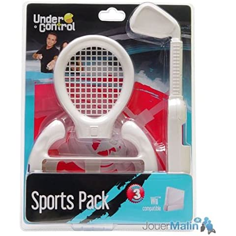 Under Control Wii Sport Pack Kit 3 in 1
