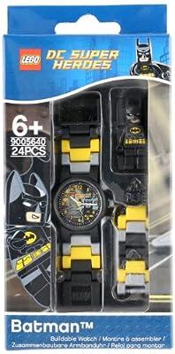 Lego DC Universe Super Heroes Batman Minifigure Link Children's Quartz Watch with Multicolour Dial Analogue Display and Multicolour Plastic Bracelet 8020264