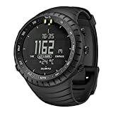 Suunto - Core All Black - SS014279010 - Reloj de exterior para todas las altitudes, sumergible...