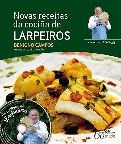 Novas receitas da cociña de Larpeiros + CD (Varios)