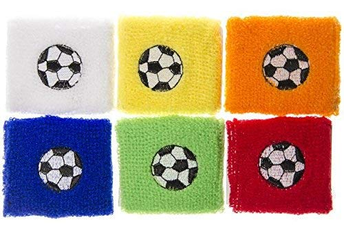 weißband Fußball 7x7 cm Armband Party Mitgebsel Kindergeburtstag Give Away ()