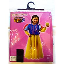 Funny Fashion Vestito Carnevale Biancaneve Bambina 7 9 Anni edeb6a275ddf