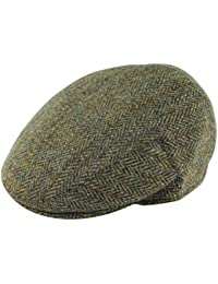 a2ba76158d9 Failsworth Harris Tweed  Stornoway  Flat Cap (Navy Grey Pattern.2012)