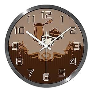 Big Wall Clock Caf Living Room Fashion Minimalist Creative Mute Clock Decoration Clock Wall