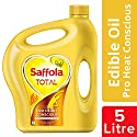 Saffola Total, Pro Heart Conscious Edible Oil, 5L Jar