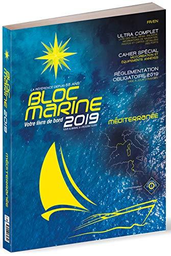 Bloc Marine 2019 - Méditerranée, Guide nautique du plaisance, cartographie marine et plans de port