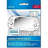 Speedlink Bildschirmschutzfolie für die Playstation Vita (schützt das Display, Mikrofasertuch und Rakel)