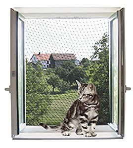 Kerbl Transparent Cat Rete di Sicurezza