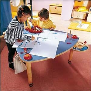 haba 2891 spieltisch birkensperrholz buche massiv 94 x 46. Black Bedroom Furniture Sets. Home Design Ideas