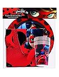 Generique - Ladybug Party-Set Lizenzprodukte 36-teilig Bunt