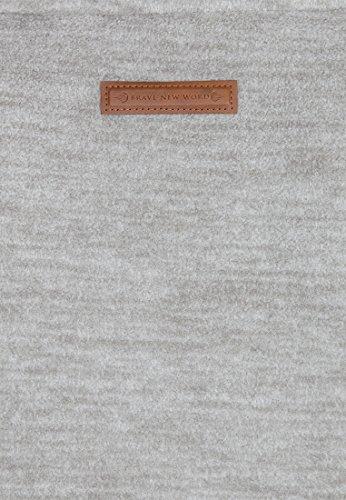 Naketano Male Zipped Jacket Onanier mir Hier II Grey Melange