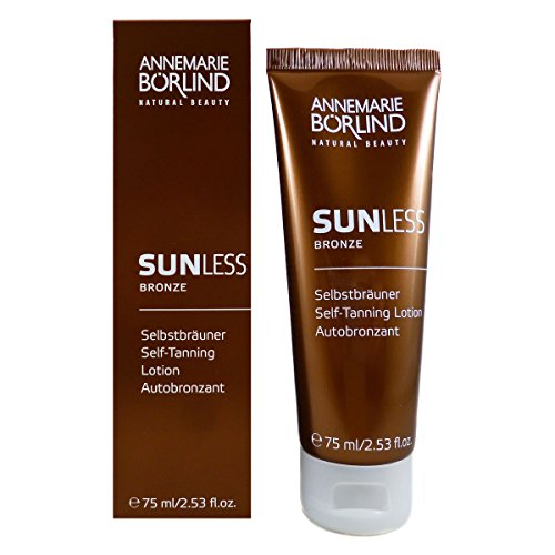 Sunless Selbstbräuner Lotion (Annemarie Börlind Sunless Bronze unisex, Self Tanning Lotion, 1er Pack (1 x 75 ml))