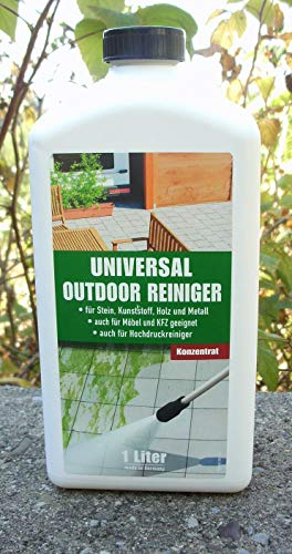 Outdoor Reiniger Universal 1L Konzentrat Aussenreiniger auch für Hochdruckreiniger