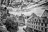 Posterlounge Acrylglasbild 180 x 120 cm: NÜRNBERG Sebalder Altstadt von Melanie Viola - Wandbild, Acryl Glasbild, Druck auf Acryl Glas Bild