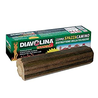 Diavolina – Tronquito limpiachimeneas 15030
