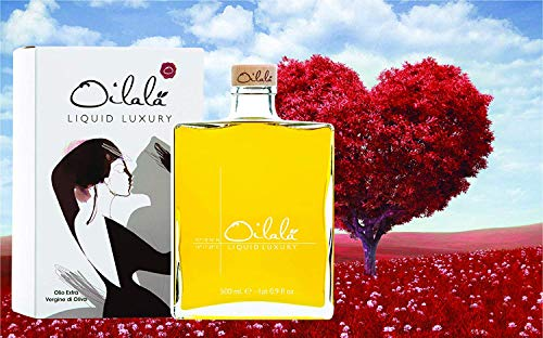 Oilalà Liquid Luxury - Olio extravergine di oliva Mono Cultivar Coratina Puglia, 500 ml