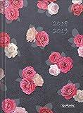 "Herlitz 50017096 Schülerkalender Basic ""Roses"" 2018/19, A5"