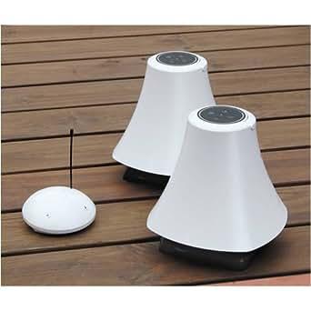 AQ Wireless Outdoor Speakers - Blanc