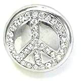 Time4-Charms Chunks 067 Peace Kristall für Armband & Kette