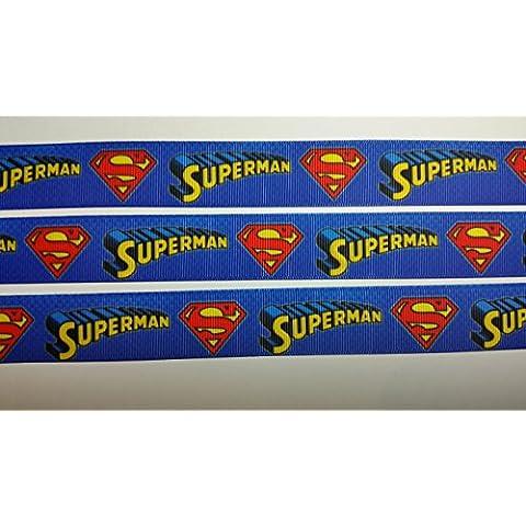 Character 22 mm Super Hero Man 2,22 cm cinta de groguén decorativa con carcasa cinta - muñeco de papel de regalo de pelo o manualidades se vende por cinta de doble cara