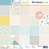 Artemio scandisweet Set 40Scrapbooking, Papier, mehrfarbig, 30,5x 1x 30,5cm