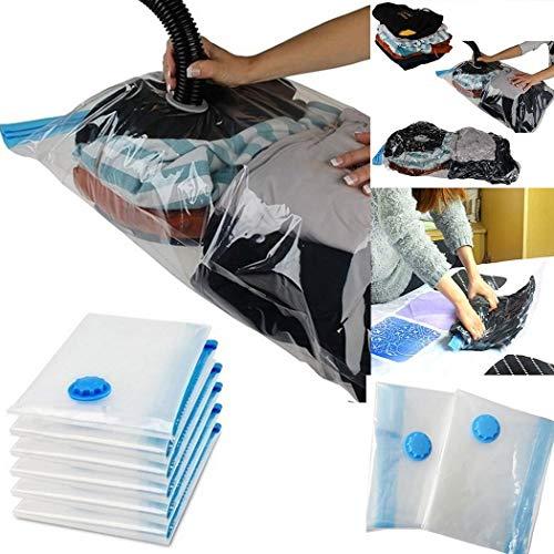 Tiowea Space Saver Saving Aufbewahrungsbeutel Vacuum Seal Compressed Organizer Bag Kleidersäcke - Space Saver Wasser
