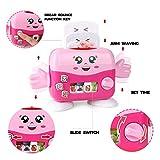 Dkings - Cooking Kitchen - Mini Kitchen Electrical Appliances Macchina per pane Set di giocattoli per bambini Kid Boy Girl