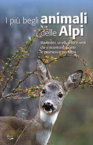 I più begli animali delle Alpi. Mammiferi, uccelli, anfibi e rettili che si incontrano durante le escursioni in montagna
