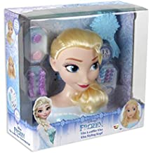 Disney Frozen - Busto peinable de Elsa con accesorios (IMC Toys 16149)