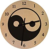 Reloj De Pared Decoracion Nostalgico Buda Acrylglas Non-Ironing Wall Clocks