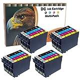 D&C 20er Set (B/C/M/Y) Tintenpatronen Druckerpatronen (nicht original) für Epson Stylus Office BX305f BX305fd BX305fw S22 SX125 SX130 SX230 SX235w SX420W SX425W SX430W SX435w SX438W SX440W SX445W