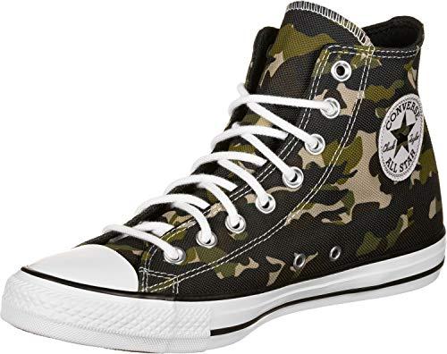 Converse Chucks CTAS HI 165915C Camouflage, Schuhgröße:43