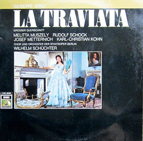 Verdi: LA TRAVIATA (grosser Querschnitt - deutsch gesungen) [Vinyl LP] [Schallplatte]