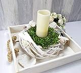 Tischdekoration, Tischgesteck, Tisch Deko, Kranz, - 3