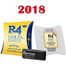Modelo R4 GOLD PRO 2018 para ds/dslite/dsi/dsixl/3DS/ds 2/new3dsxl/new2ds no proporcionado juegos normales