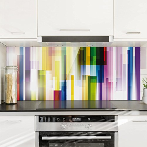 Bilderwelten Paraschizzi in vetro - Rainbow Cubes - Panoramico ...