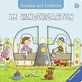 Schiebe und Entdecke: Im Kindergarten