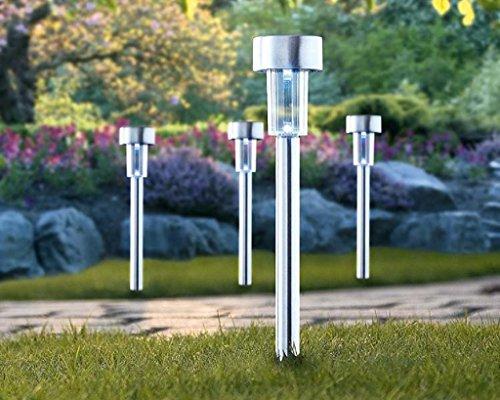 Lampioni Da Giardino Solari : Gardenmile lampade da giardino vialetto sentiero o bordura