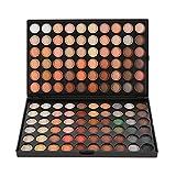 Abody Paleta Sombras de Ojos 120 Colores Professional Kit de Maquillaje Gama de Ojo Cosméticos Concealer Neutral Warm Eye Shadow