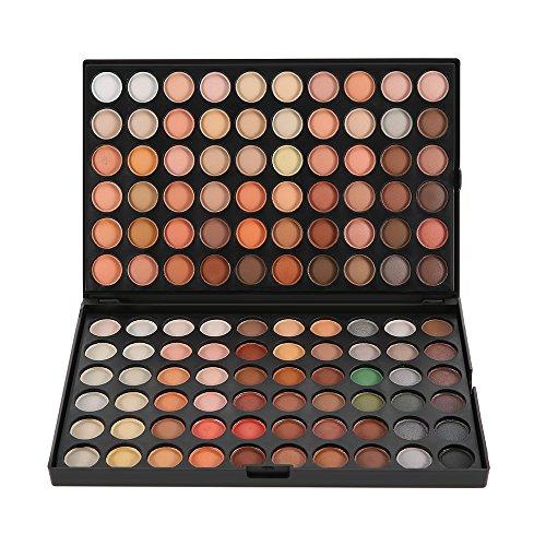 Abody Palette de Maquillage Professionelle 120 couleurs fard à paupières ombre à paupière Neutre Warm Eye Shadow