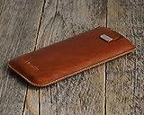 iPhone 7, Plus, 6s, 6 , SE , 5s , 5 Hülle Tasche Cover Leder Etui Case personalisiert durch Prägung mit ihrem Namen